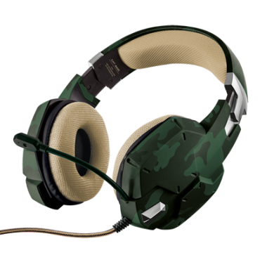 GXT 322C GAMING HEADSET – GREEN CAMOUFLAGE